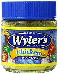 Wyler\'s Instant Bouillon Chicken Powder, 3.75 Ounce (Pack of 8)