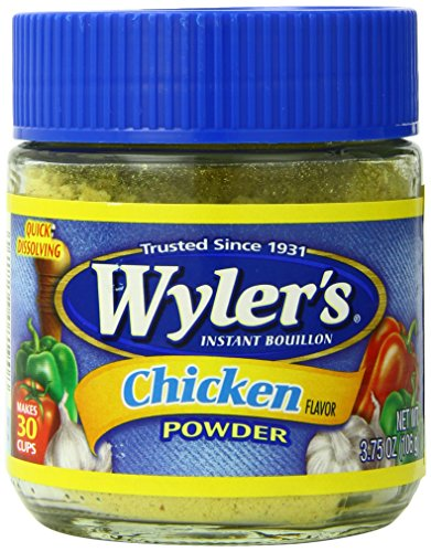 WYLER'S Instant Bouillon Chicken Powder, 3.75 Ounce (Pack...