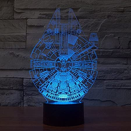 Xanxus Vision Star Wars Lamp 3d Visual Led Night Lights For Kids