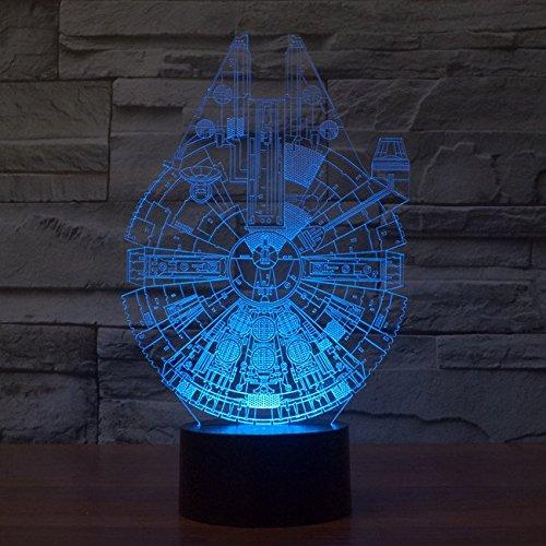 Xanxus Vision Reg Star Wars Led Lampe Visueller 3d Effekt F Uuml