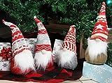 JOYIN 4 Pcs Christmas Gnome Swedish Santa Tomte Red