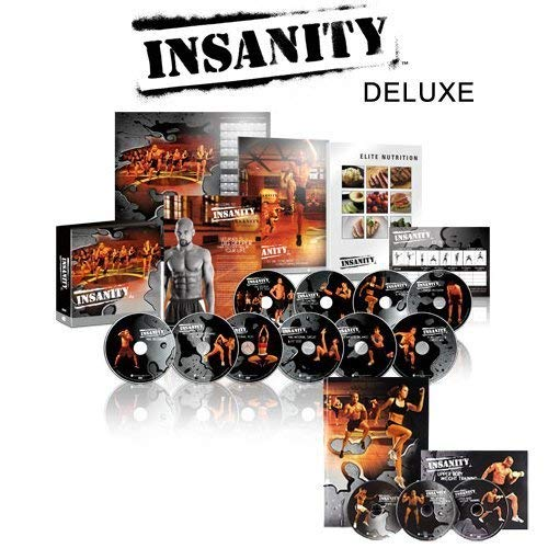 INSANITY 6O Day Base Kit + Bonus-14 DVD Complete Workout