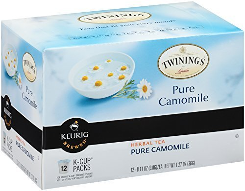 Twinnings Pure Camomile K-Cup, 12 Count Size: Pack of 1 FlavorName: Camomile Model: (Home & Kitchen)