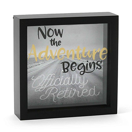 Enesco-Our-Name-is-Mud-Officially-Retirement-Glass-Shadow-Box-625-Black
