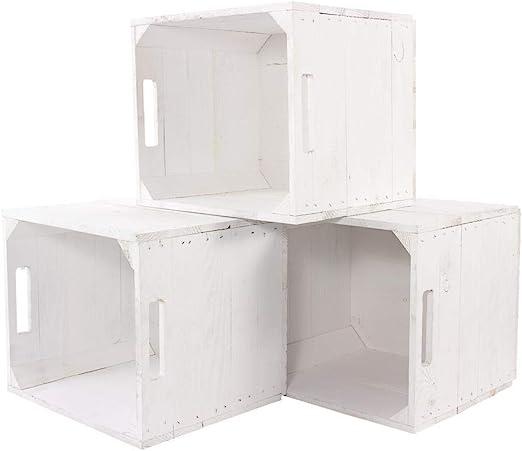 Caja blanca para estantería Ikea Kallax Expedit, 33 cm x 37,5 cm x 32,5