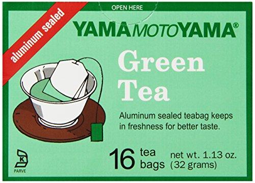 Yamamotoyama Green Tea Bags, 1.13-Ounce (Pack of 6) (Yamamotoyama Green Tea)