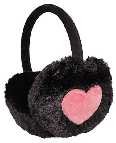 kids girls winter warm faux fur plush ear warmers earmuffs. Black Bedroom Furniture Sets. Home Design Ideas
