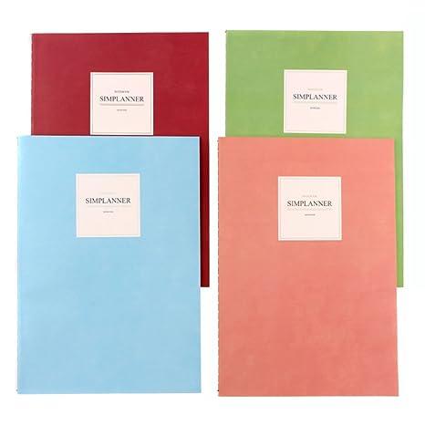 Hosaire 1X Cuaderno Agenda,Estudiante Cuaderno A5 Libro de ...