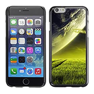 PC/Aluminum Funda Carcasa protectora para Apple Iphone 6 Beautiful Planet Landscape Grass / JUSTGO PHONE PROTECTOR