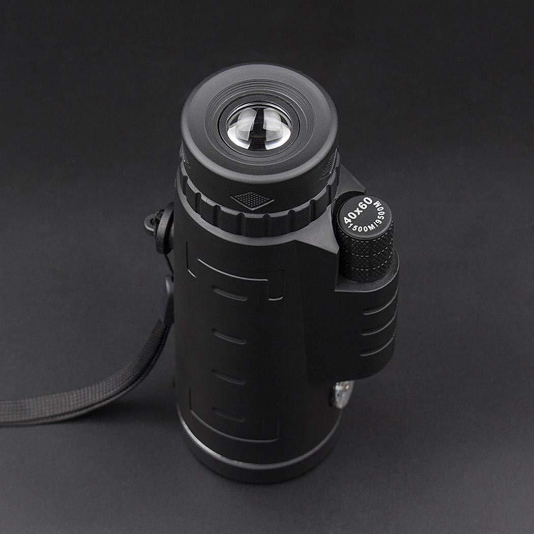 das tragbares Teleskop Monocular wandert Linsenteleskope iloits Nachtsichtger/ät f/ür wenig Licht im Freien