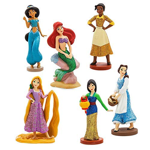 Disney Princess Figure Play Set - ''Once Upon a Time'' Playset of 6 Figurines