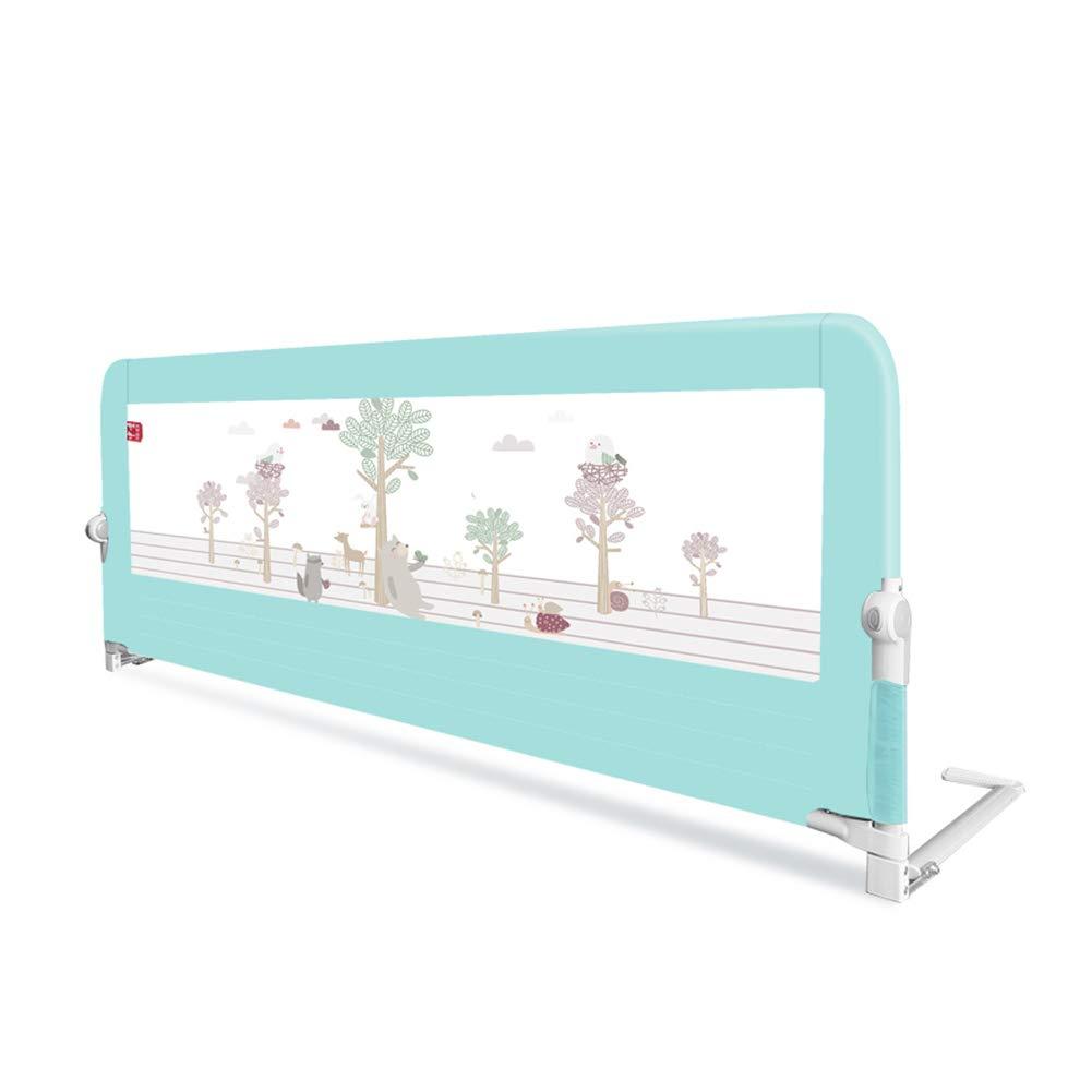ベッドフェンス 幼児女の子の男の子のためのベッドレールガードは、ベッドの安全なベッドレール、金属フレームの落ちるのを防ぐ (サイズ さいず : Length 200cm) Length 200cm  B07MMS7B6Q