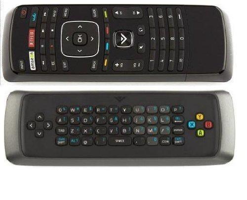 (NEW Vizio Dual side keyboard QWERTY Remote Control XRV1D3 for M420SV M470SV M550SV M420SL M470SL M550SL M370SR M420SR M420KD E551VA M3D650SV M3D550SL M3D470KD M3D550KD; E3D320VX E3D420VX E3D470VX)