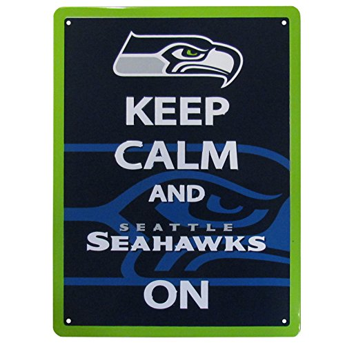 NFL Seattle Seahawks Keep Calm Sign ()