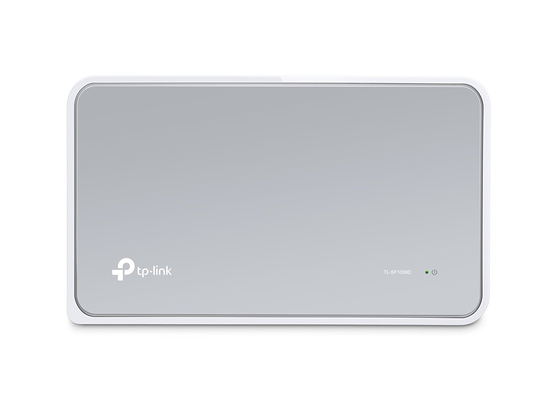 Tp Link 8 Port Fast Ethernet Switch Desktop Verizon Fios Cat5e Wiring Diagram Splitter Hub Plug And Play Fanless Quite Unmanaged Tl Sf1008d