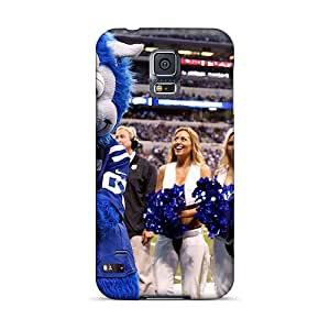 Tpu Shockproof/dirt-proof Indianapolis Colts Cheerleaders Roster 2013 Cover Case For Galaxy(s5)