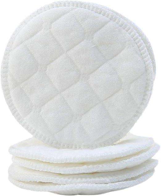 AEROBATICS Protector para Lactancia Lavables, 20pcs Algodón Discos ...