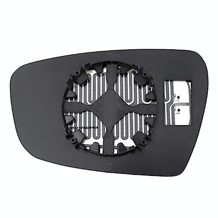 Heated Right Passenger Mirror Glass w//Rear Back Plate for 05-10 VW Jetta Passat