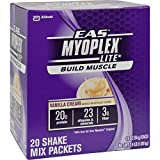 2Pack! EAS Myoplex Lite Nutrition Shake Vanilla Cream - 20 Packets