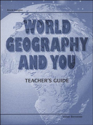 World Geography and You Teachers Guide Various
