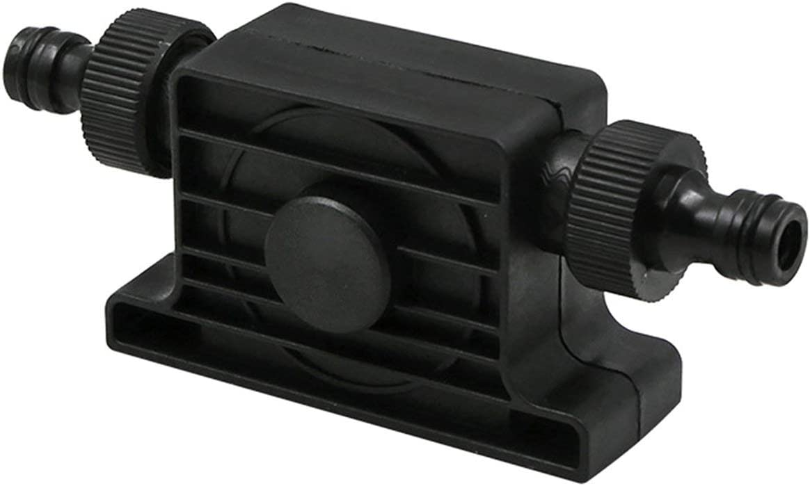 h D/ébit Auto Amor/çage Transfert Huile Fluide Pompe /À Eau 8mm Queue Ronde pour Perceuse /Électrique avec Connecteur de Tuyau Portable 1800 m3 Noir