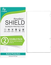 (2-Pack) RinoGear Screen Protector for Nintendo Switch Case Friendly Nintendo Switch Screen Protector Accessory Full Coverage Clear Film