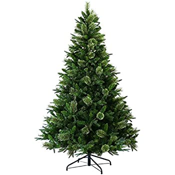 Amazon.com: Member's Mark 9' Bristle Fir Christmas Tree with One ...
