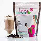 Prenatal Vitamin Supplement Shake - Baby Booster Kona Mocha - 1lb bag - OBGYN Approved - All Natural - Tastes Great - Vegetarian DHA - High Protein - Folic Acid - B6 - Great for Morning Sickness