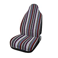 uxcell Automotive Colorful Baja Blanket Universal Bucket Seat Cover for Car Truck SUV