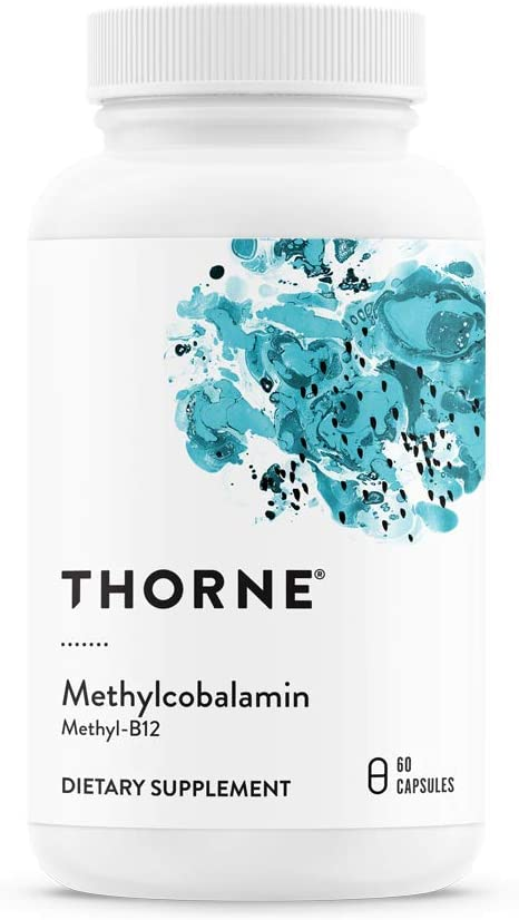Thorne Research – Methylcobalamin Methyl B12 – Active Form of Vitamin B12-60 Capsules