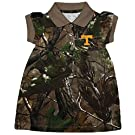 Tennessee Volunteers NCAA Newborn Baby Camouflage Dress (0-3 Months )