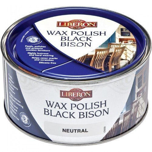 Black Bison Wax - Neutral Liberon Fine Paste Wax
