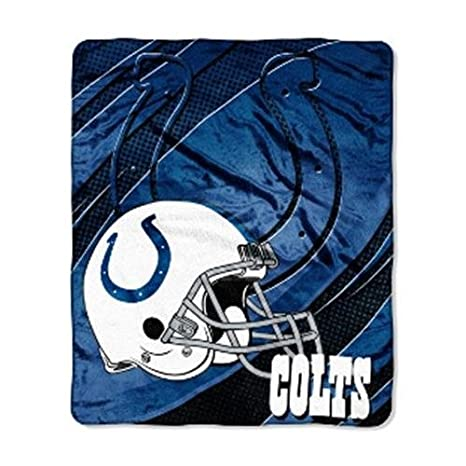 Amazon Indianapolis Colts NFL Imprint Micro Raschel Blanket Mesmerizing Colts Throw Blanket