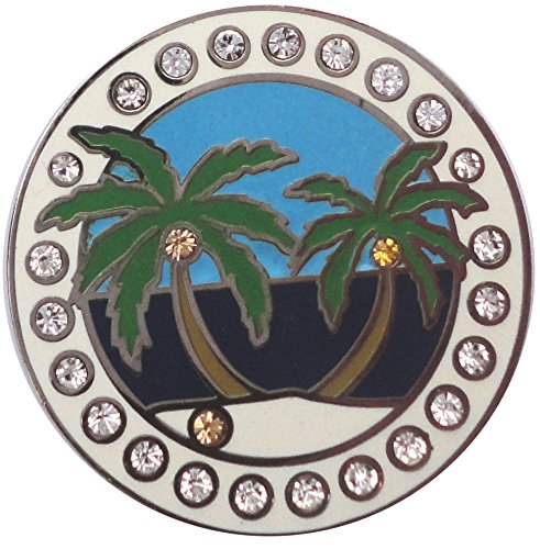 Island Paradise Golf Necklace and Golf Ball Marker by FunMarkers (Image #3)