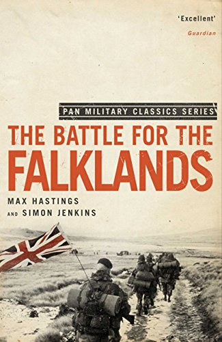 The Battle for the Falklands (Pan Military Classics) (English Edition) por [Hastings, Max, Jenkins, Simon]