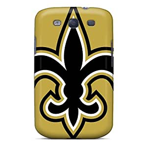 ErleneRobinson Samsung Galaxy S3 Protector Hard Cell-phone Case Support Personal Customs High Resolution New Orleans Saints Skin [EGU6608EYSM]