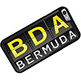 Rubber Case for iphone 6 BDA Airport Code for Bermuda - Neonblond