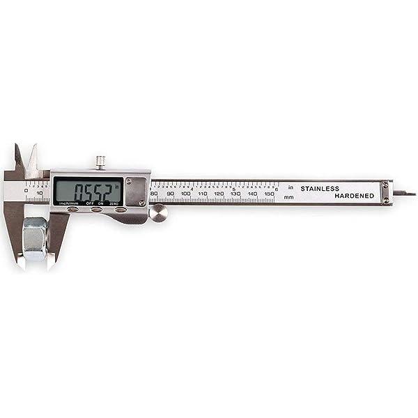 "2Pc PLASTIC VERNIER CALIPER Diameter Measuring Gauge Small 3/""//Large 6/"" Tool NEW"