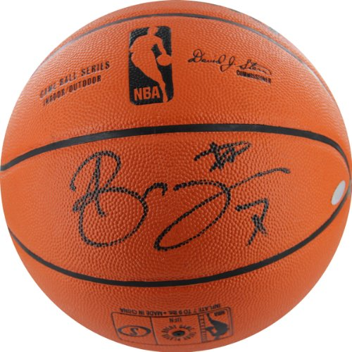 NBA New York Knicks Andrea Bargnani Autographed Basketball, (Steiner Sports Basketballs)