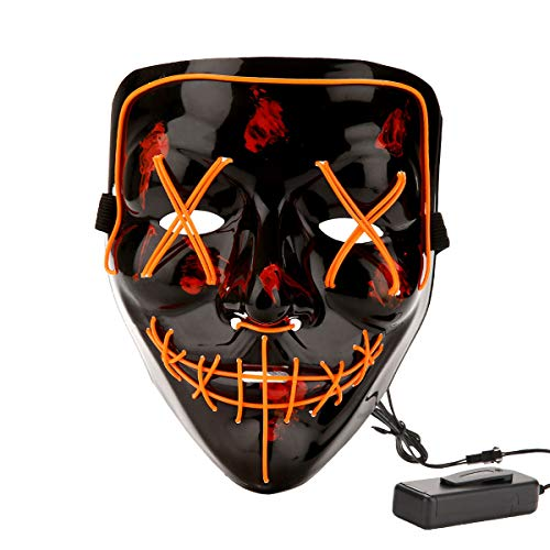 Led Light Up Mask in US - 6