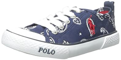 Polo Ralph Lauren Kids Carlisle III Fashion Sneaker (Little Kid/Big Kid),