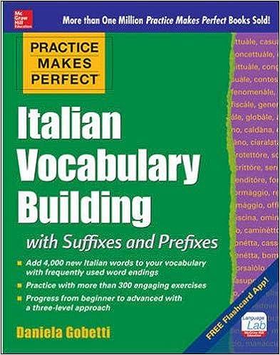 Practice Makes Perfect Italian Vocabulary Builder