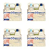 Aveeno Baby Mommy & Me Gift Set, Baby Skin Care Products (4 PACK)