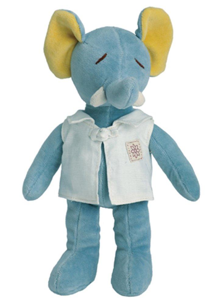"miYim Organic Plush Fairytale Collection - 9"" Baby Ellie the Elephant"