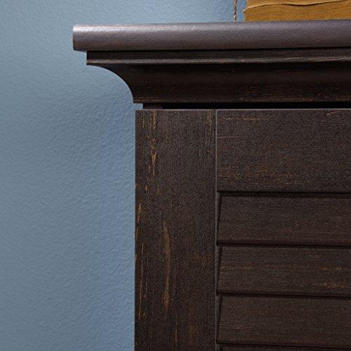 Sauder 416797 Harbor View Storage Cabinet, L: 35.43'' x W: 16.73'' x H: 61.02'', Antiqued Paint finish by Sauder (Image #5)