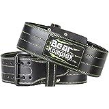Genuine Leather Adjustable Weightlifting Belt:...