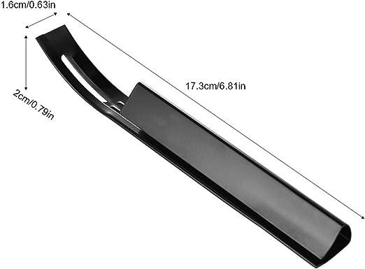 Seguridad Beveler cuchilla y cuchilla para cortar herramientas de piel con 3 piezas Cuchillas de repuesto para piel de entresacar: Amazon.es: Hogar