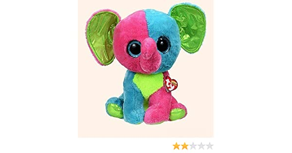 Amazon.com  Ty Beanie Boos Elfie - Elephant Large (Justice Exclusive)  Toys    Games 4894c2c46475