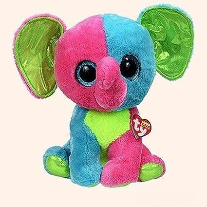 Amazon.com  Ty Beanie Boos Elfie - Elephant Large (Justice Exclusive ... 88ba23cc3bc8