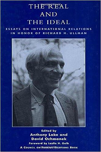 Essay on international relations